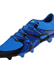Hombre-Tacón Plano-Confort-Zapatillas de Atletismo-Deporte-Sintético-Negro / Azul / Amarillo