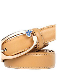 Women's Alloy Waist Belt,Casual Solid