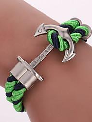 Bracelet Bracelets Wrap Alliage / Nylon Forme Géométrique / Ancre Mode / Bohemia style / Adorable Soirée / Quotidien / Décontracté Bijoux