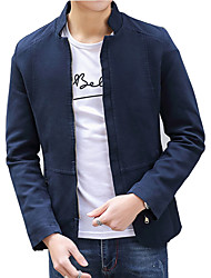 In the spring of 2016 new young men Liling jacket Jacket Mens Cotton Coat slim male Korean tide