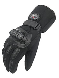 Motorcycle Gloves Nontoxic Odorless Water Resistant Breathable Slip Drop Resistance