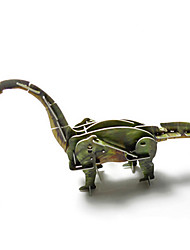 Children'S Puzzle Will Move Around The World Of Dinosaur Animals Diy Power 3D Assembled A Spring Puzzle