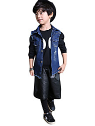 Boy's Casual/Daily Solid Jeans,Others Summer / Fall Black / Blue