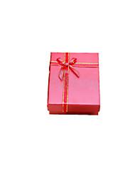 emballage de couleur rouge&expédition emballage cadeau boîte un pack de six