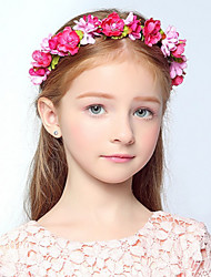 Flower Girl's Rose Flower Wreaths for Wedding Party Hair Jewelry