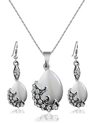 Alloy Bridal Jewelry Sets Necklaces Earrings Wedding/Party 1 pair
