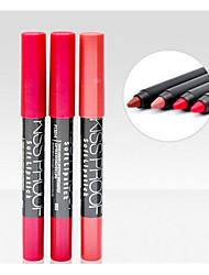 Rouges à Lèvres Humide Crayons Longue Durée Naturel Multicolore 1