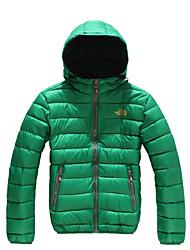 The North Face Men's Down Hoodie Jacket Waterproof Windproof Outdoor Sports Trekking Camping Hiking Full Zipper Jackets