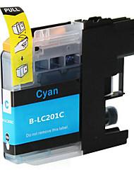 lc201 картриджи с чернилами для картриджей Brother MFC-j885dw принтера (Cyan)