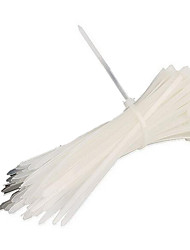 A Cable Tie Pack One Thousand Nylon Cable Ties 4 * 200 Self-Locking  Plastic Cable Ties White Ties Black Cable Tie
