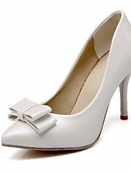 Damen-High Heels-Hochzeit Büro Kleid Lässig Party & Festivität-Kunststoff Lackleder Kunstleder-Stöckelabsatz-Komfort Neuheit Pumps-Blau