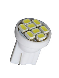 20X T10 8-SMD Wedge White W5W 168 194 Dashboard Instrument Panel Indicator Light