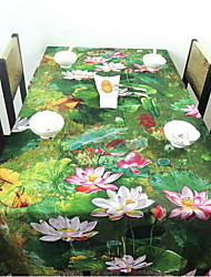 Exotic Ethnic Style Linen Square Table Cloth Side Table Tablecloth (140 * 140cm)