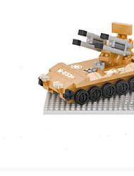 Building blocks assembled tank suit