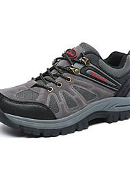 Зеленый / Серый / Хаки-Мужской-Для прогулок / На каждый день / Для занятий спортом-Кожа-На плоской подошве-Удобная обувь-Спортивная обувь
