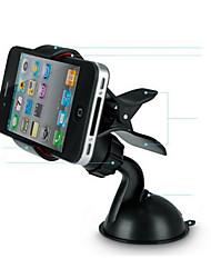car car operadora de telefonia móvel mini com 360 graus de rotação gps suporte de navegação clipe de boca de peixe