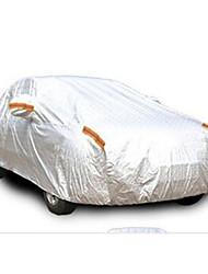 la voiture anti-vol vêtement thermique en aluminium épaissie réfléchissant capot antipoussière écran solaire hydrofuge