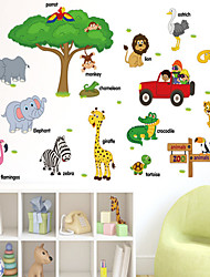AOFU Cartoon Wall Stickers Plane Wall Stickers Decorative Wall Stickers,Home Decoration Wall Decal SK9084