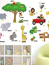 Caricatura Pegatinas de pared Calcomanías de Aviones para Pared Calcomanías Decorativas de Pared,PVC Material Puede Cambiar de Ubicación