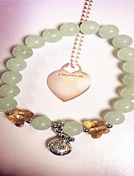 Women Alloy Silver Purse Strand Bracelets
