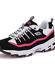 Feminino-Tênis-Arrendondado-Rasteiro-Azul / Rosa / Vermelho / Branco / Coral-Couro Ecológico-Casual / Para Esporte