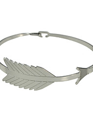 Leaf Shape Metal Bracelets
