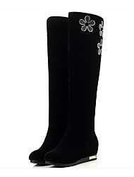 Women's Boots Fall / Winter Snow Boots Microfibre Dress / Casual Flat Heel Others Black Snow Boots