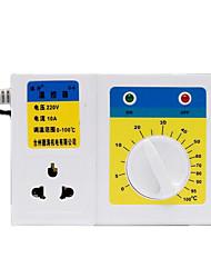 caldeira controlador de temperatura mecânico (faixa de temperatura de 0 a 100 ° C; ac-220v)