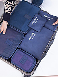 Travel Bag Classification Of Mesh Bag Bag Thickened Clothes Arrangement Of Six Separate Sets Of Clothes
