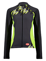 Sports Bike/Cycling Tops Men's Long SleeveBreathable / Wearable / Antistatic / Ultra Light Fabric / Thermal