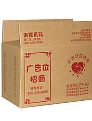 color amarillo otro material de embalaje&el envío # 6 de tres capas 26 * 15 * 18 cajas de cartón de embalaje duros Un paquete de