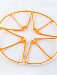 SYMA X8W SYMA x8w Propeller Guards RC Quadrocopter / Drones / RC Hubschrauber Schwarz / Weiß / Orange Plastik 1 Stück