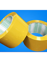 High Viscosity Beige Tape Width 6.0CM* Thickness 1.7CM Yellow Sealing Tape
