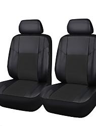 6 pcs assento de couro pu carro univeral cobre apto para a maioria assento de carro