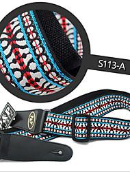 High-Grade Embroidery Guitar Strap General Bakelite Guitar Strap