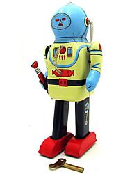 Toy Nouveauté / Puzzle Toy / jouet éducatif / Jouet à Remonter Toy Nouveauté / / guerrier / Robot Métal Bleu Pour Enfants
