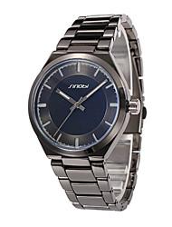 Men's Wrist watch Quartz Water Resistant / Water Proof Sport Watch Alloy Band Black Brand SINOBI