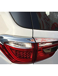 BYD Yuan Tail Lamp Shade Decorative Frame ABS Plating After The Tail Light Eyebrow Bright Decorative Patch