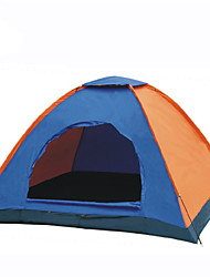 LANGYA Waterproof / Breathability Polyester One Room Tent Blue Trail Tent