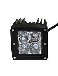 1pcs modelos populares levaram luzes de trabalho IP68 12w cree 4x4 levou luz de trabalho