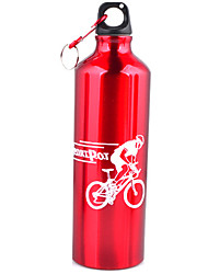 Unisex Outdoor Bicycle Cup Aluminum Sports Water Bottle 750ml Large Capacity Camping Cup And Water Bottles