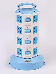 Multifunction Smart Vertical Socket Multi-Outlet Power Strip Wiring Board