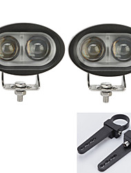 2PCS LED Cree Light Bars Driving Offroad ATV UTV with A Pair of 1.5 InchMounting Brackets