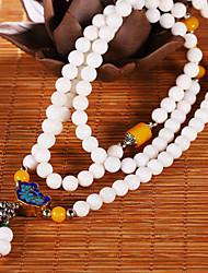 Strand Bracelets 1pc,White Bracelet Fashionable Circle 514 Agate Jewellery