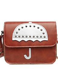 Femme Polyuréthane Décontracté / Shopping Sac à Bandoulière / Porte-Monnaie / Mobile Bag Phone