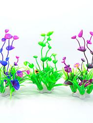 1Pc/Simulation of Aquatic Plants Aquarium Fish Tank Landscape Decoration Plastic Grass
