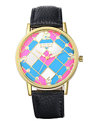 Xu™ Multi-Colored The Geometric Fashion Quartz Watch