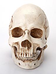 Pour Halloween Squelette/Crâne Fête / Célébration Déguisement Halloween Blanc Couleur Pleine Plus d'accessoires Halloween / Carnaval
