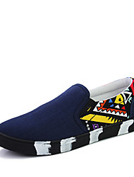 Men's Punk Style Camouflage Slip-on Shoes Casual Man's Breathable Lazy Shoes