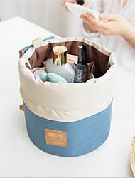 grande bombeamento de volume com saco bolsa de maquiagem senhora lavagem tambor saco de três peças